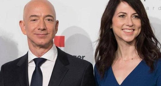 """بسبب """" الطلاق """" .. زوجة رئيس أمازون تصبح ثالث أغنى امرأة بالعالم"""