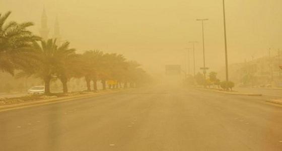 نشاط الرياح المثيرة للأتربة على مكة