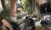 بالفيديو.. مشاهد مؤثرة لزميلة المواطنين المتوفيين لحظة تفجيرات سريلانكا