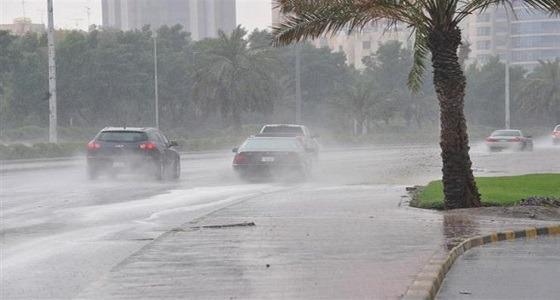 استمرار هطول أمطار رعدية على حائل والقصيم