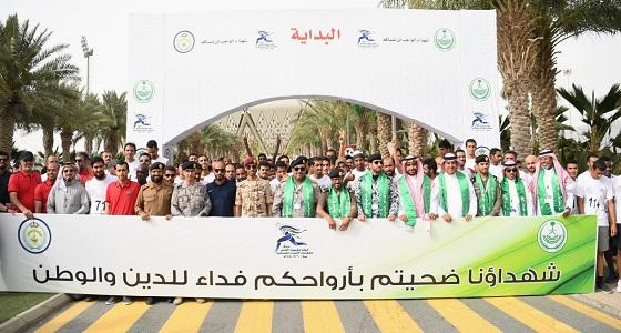 """الاتحاد الرياضي السعودي ينظم """" سباق الوفاء للشهداء الخامس """" للقطاعات الأمنية والعسكرية"""