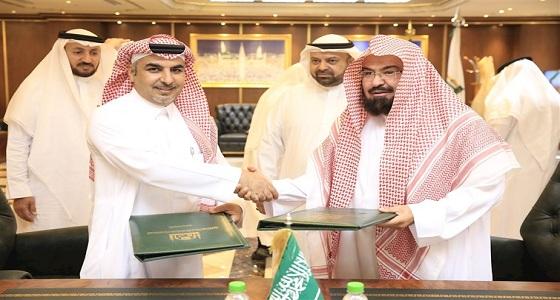 سجاد المسجد النبوي الجديد بأيد سعودية خالصة ومزود بشريحة إلكترونية