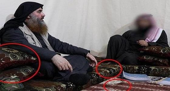 """نقوش الوسائد تكشف مكان اختباء زعيم """" داعش """""""
