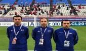 تكليف طاقم تحكيم سعودي لإدارة مباراة أولسان وهيونداي الكوري