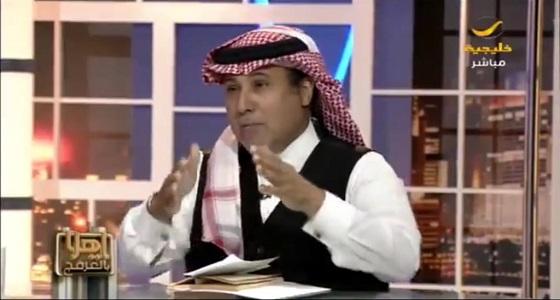 """بالفيديو.. """" العرفج """": الحكومة العراقية عرفت الآن أن ليس لها بعد الله إلا المملكة"""