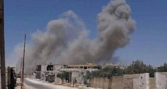 مقتل 8 مدنيين جراء قصف طائرات النظام السوري على ريفي إدلب وحماة
