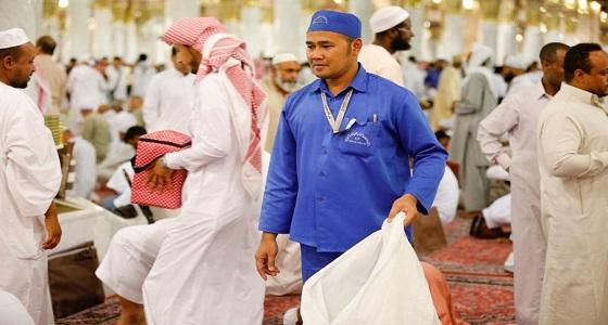 وكالة المسجد النبوي: ٩٣ طنًا معدل مايتم رفعه من النفايات يوميًا خلال شهر رمضان المبارك