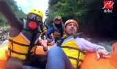 """بالفيديو.. إصابة قوية لوائل الجسار أثناء تصوير """" رامز في الشلال """""""
