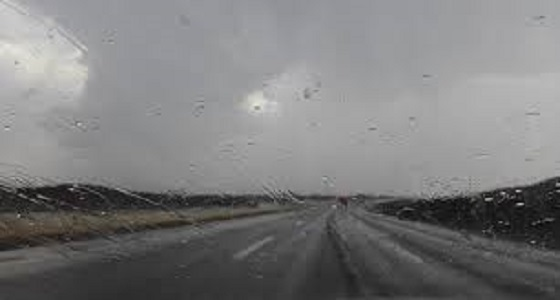 تحذير لمستخدمي طرق المدينة المنورة بسبب الأمطار