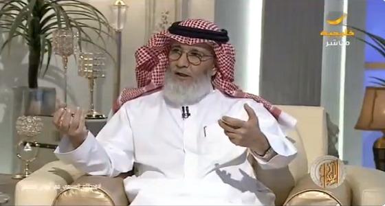 بالفيديو.. عبدالله السبيعي: أعارض بشدة الفحص النفسي والمخدرات قبل الزواج