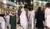 بالفيديو.. حقيقة إيقاف معتمرة وهي تؤدي العمرة بإحرام الرجال
