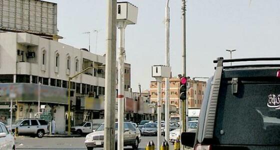 """لأول مرة.. تطبيق نظام """" ساهر """" بشوارع محافظة العلا"""