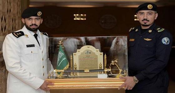 """"""" آل سالم """" يحتفل بتخرجه من كلية الملك عبدالعزيز الحربية"""