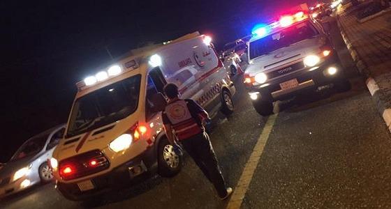 وفاة 4 أشخاص من عائلة واحدة في حادث مروع بجازان