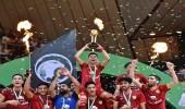 بنو قادس يجمعون الدوري مع كأس الصالات بلا خسارة