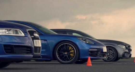 بالصور.. سيارة أودي Rs6 تثير الإهتمام بسباق تسارع لمسافة نصف ميل
