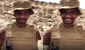 """بالفيديو.. أبطال الحد الجنوبي.. """" صيام وحر وابتسامة لا تفارقهم """""""