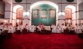 بالصور.. سمو ولي العهد يلتقي مجموعة من المثقفين السعوديين