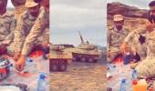 بالفيديو.. مرابطون يباشرون بلاغا عن هدف عسكري بالتزامن مع أذان المغرب