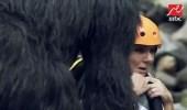 بكاء طفولي لـ ندى بسيوني مع رامز في الشلال (فيديو)