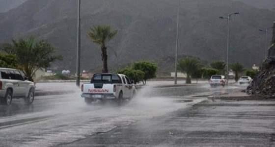 تحذير من أمطار رعدية على 3 مناطق لمدة 24 ساعة