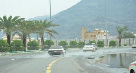أمطار رعدية وانعدام في الرؤية بطقس اليوم بالمدينة وعسير