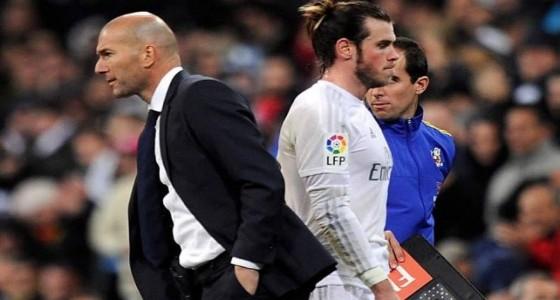 زيدان يطلب من جاريث بيل الرحيل عن ريال مدريد