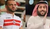 تركي آل الشيخ يوجه الشكر لنجل مرتضى منصور
