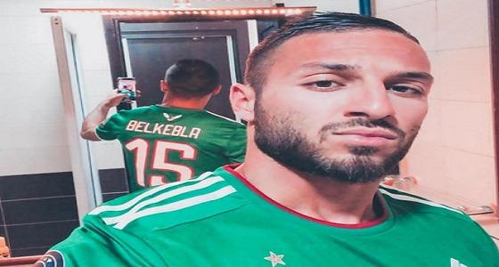 مقطع فاضح في قطر يبعد لاعب وسط المنتخب الجزائري من أمم أفريقيا