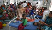 التهاب الدماغ الحاد يقتل 129 طفلا هنديا