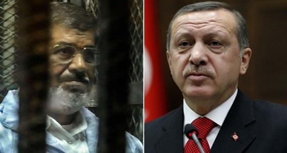 """رجب طيب أردوغان يصف محمد مرسي بـ """" الشهيد """""""