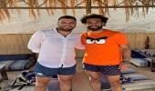 بالصور.. صلاح يتصدر استفتاء ماركا أثناء عطلته في الجونة