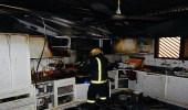 إخلاء 7 أشخاص بعد اندلاع حريق في منزل ببريدة