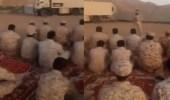 بالفيديو.. جنود الحد الجنوبي يؤدون صلاة عيد الفطر 2019