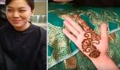بالفيديو.. فتيات كوريات تنبهرن بنقش الحناء السعودية