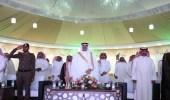 الصقر يدشن عيدكم شمالي بمحافظة طريف