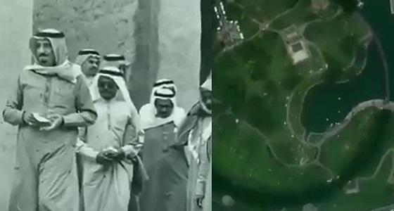 """لقطات نادرة.. الملك سلمان عن الرياض قديمًا: """" لم يكن بها شارع مسفلت """""""