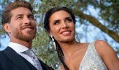 راموس يخطف الأنظار حوله في حفل زفافه.. وزوجته تتألق بإطلالة مثيرة