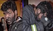 صور تخرس الألسنة.. رجال الدفاع المدني يحترقون حفاظا على أرواح الآخرين