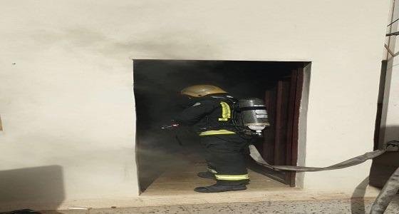 إصابة ستيني إثر اندلاع حريق في ملحق بمنزل ببريدة