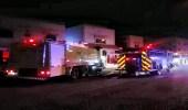 اندلاع حريق في شقة بالقريات واحتجاز 4 أشخاص