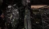 بالصور.. إنقاذ مسنة من حريق اندلع في منزلها بدومة الجندل