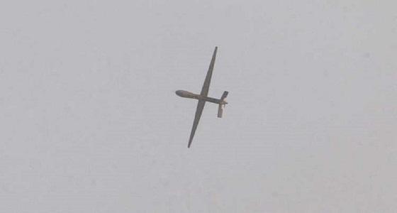 اعتراض طائرة مسيرة حوثية متجهة لخميس مشيط