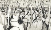 صورة نادرة تجمع خادم الحرمين الملك سلمان مع 4 ملوك
