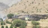 الدفاع المدني ينجح في السيطرة على حريق أعشاب بموقعين مختلفين بمحافظة المندق