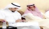 عقد قران المدير التنفيذي بالتنمية الاجتماعية الاهلية بمنطقة الحدود الشمالية