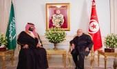 بالفيديو.. ولي العهد في حديث قديم يعتبر الرئيس التونسي بمثابة والده