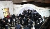 """إصابة 13 فلسطينيًا جراء اشتباكات بسبب دخول مستوطنين إلى """" قبر يوسف """""""