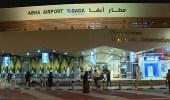استئناف الرحلات في مطار أبها بعد سقوط طائرة الحوثي الإرهابية