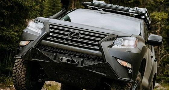 """بالفيديو.. الكشف عن """" لكزس GX Off-Road """" سيارة قادرة على اقتحام جميع الطرق الصعبة"""